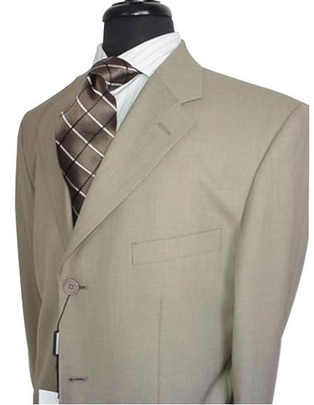 Groomsmen Suits Men's Tan ~ Beige~Stone~Beige Men's  Discount Dress Available