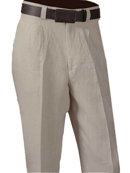 Mens Single Pleated Pant