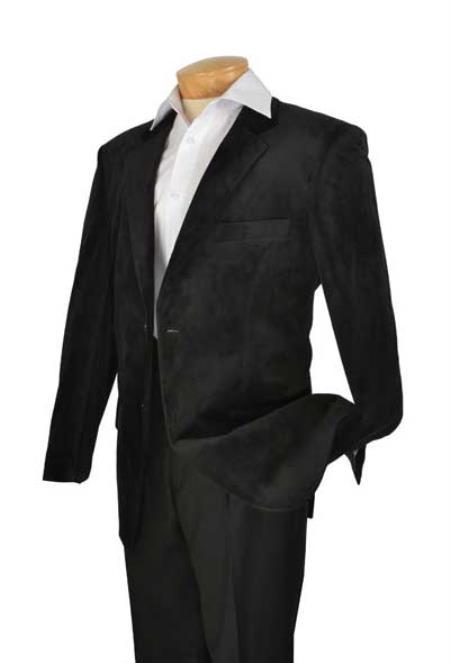 SKU#KA1177 Mens High Fashion Slim Fit velvet velvet sportcoat