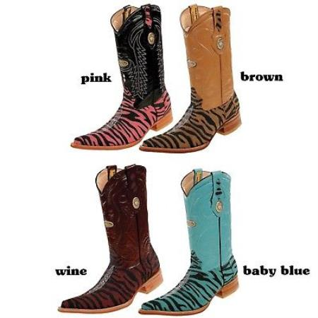 TOE STINGRAY WESTERN COWBOY