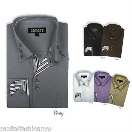 Stylish Mens Dress Shirt