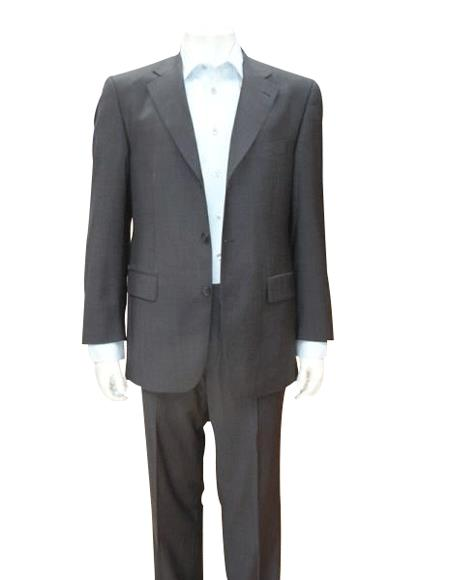 Cheap Priced Men's Dress Suit For Sale Charcoal Gray Discount Cheap Priced Dress 2 Or Three - 3 Buttons - Color: Dark Grey Suit