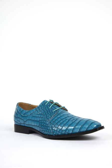 Mens Exotic Alligator Print