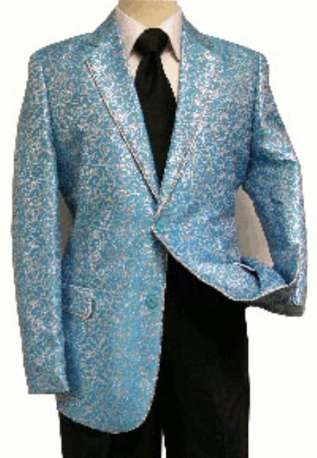 Turquoise Fashion Entertaining Tuxedo