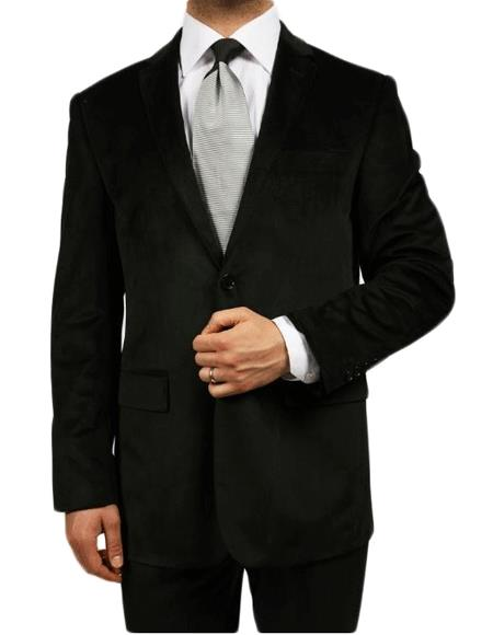 Black Kids Sizes Luxurious Velvet Highlights Two-Button Single-Breast Mens & Boys Sizes Perfect for toddler wedding  attire outfits Jacket