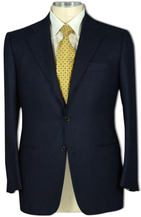 Men's 2 Button Style Jacket Super 100' Wool Business ~ Wedding 2 piece Side Vented 2 Piece Suits For Men