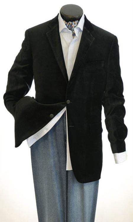 Mens Velvet Sport Jacket Velvet Cheap Unique Dress Blazer Jacket For Men Sale