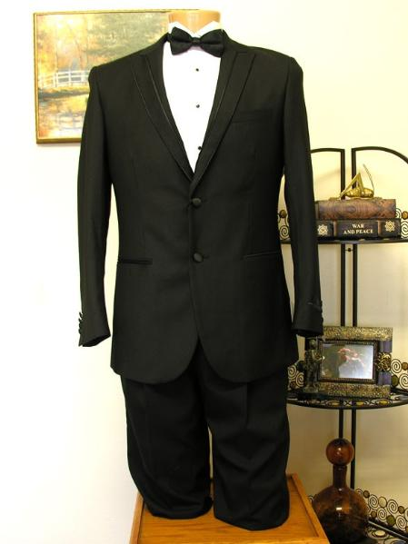 2 Button Groove Lapel