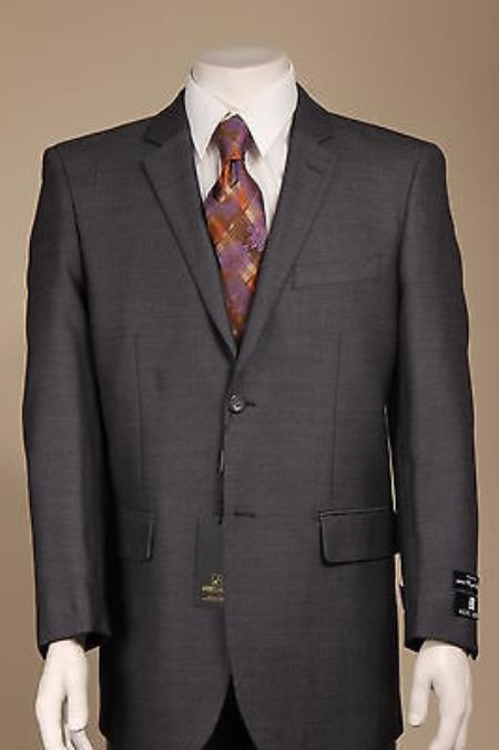 New Men's 100% Wool 2 Button Sport Coat/ Sport Jacket / Blazer Jacket Black
