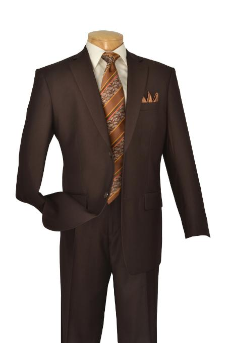 Executive Pure Solid Brown
