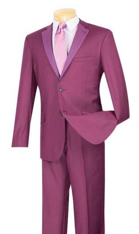 Plum ~ Burgundy Suit