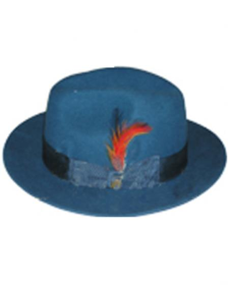 Untouchable Teal Hat