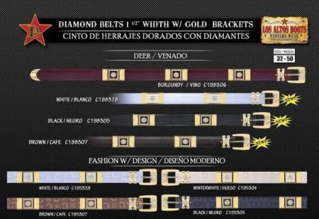 Diamond Belts Deer &