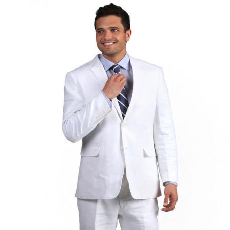 White Notch Lapel Classic
