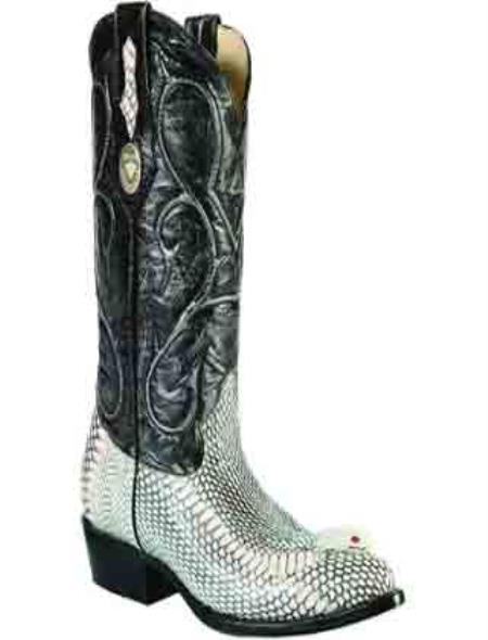 White Diamonds Boots Cobra