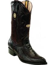 RM1247 Mens White Diamonds Single Stitched Welt Genuine Ostrich Leg Burgundy ~ Wine ~ Maroon Color Boots