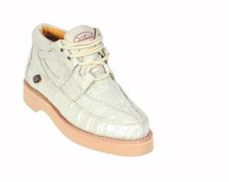 SKU#KA1278 Mens White Los Altos Shoes