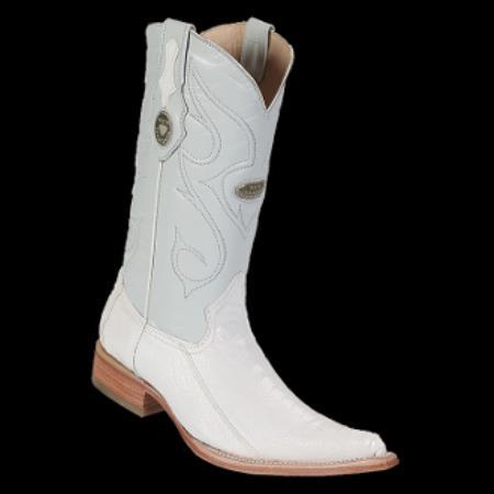 Buy KA8010 New Reg: $795 discounted sale clearance diamonds Boots-Men's Ostrich Leg White XXX 3x-Toe Cowboy Boots