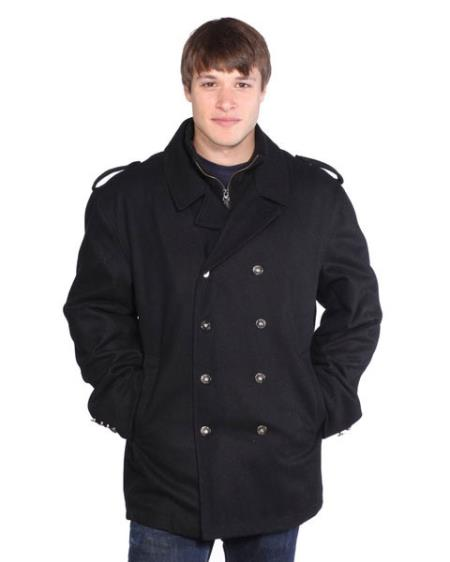 | Ned Wool Peacoat