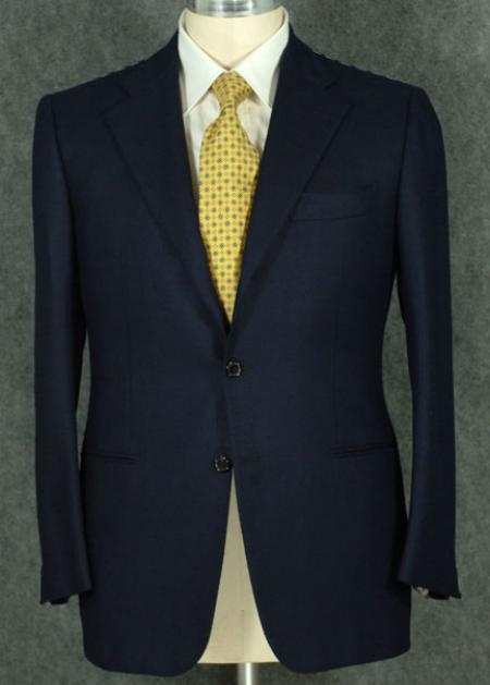 SKU#DCN348 Mens 2 Button Style Jacket Super 100 Wool Suit With Pleated Pants in 6 Colors $179