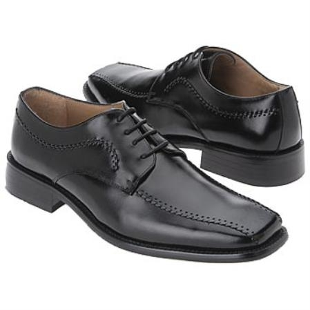 SKU#LS624 Mens Black Smooth lining, Cushioned insole $75