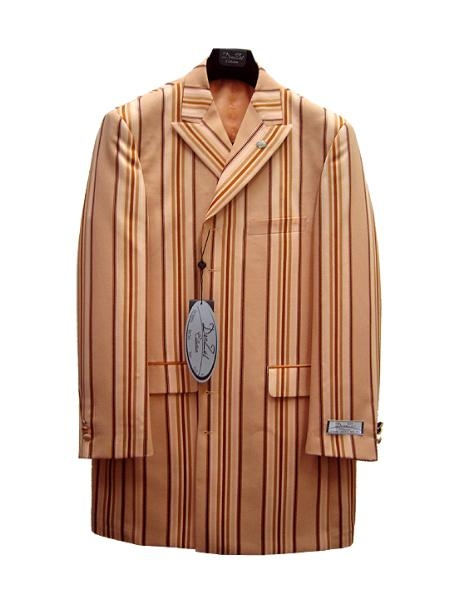 SKU#WP0012 Mens Fashion Zoot Suit - Rust $125