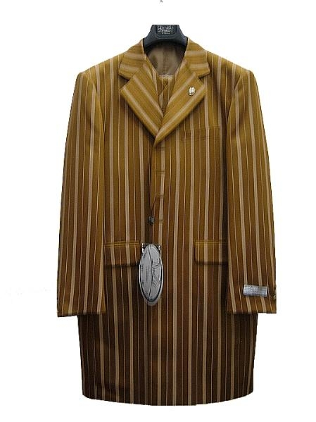 SKU#YC39471 Mens Fashion Zoot Suit Bronze $125
