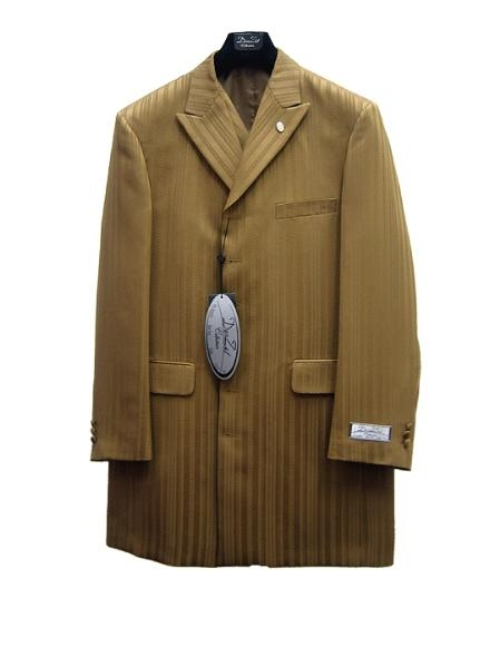 SKU#WM8990 Mens Fashion Zoot Suit Walnut $125