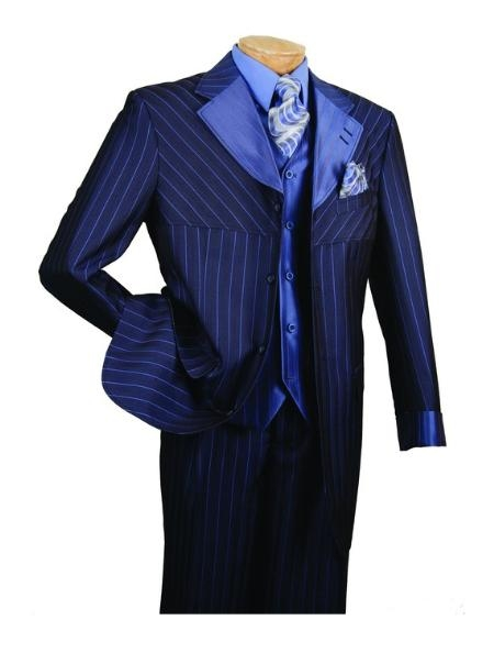 SKU#AJ816 Mens High Fashion 3-Piece Suit $139