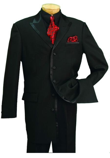 SKU#BE827 Mens High Fashion 5 Button Tuxedo $189