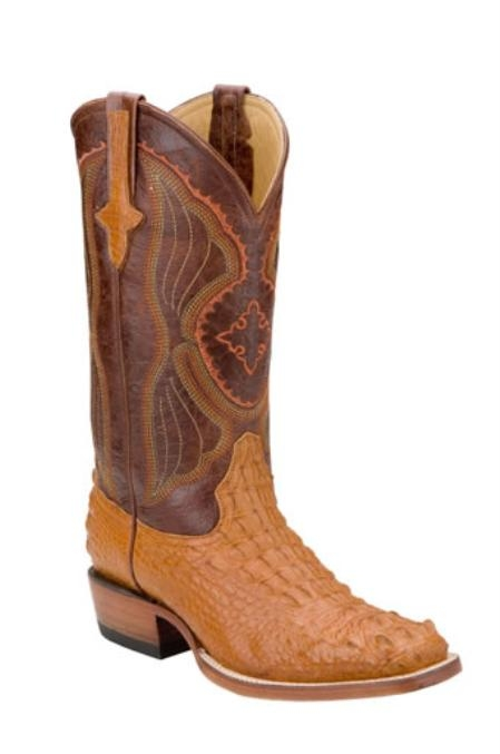 SKU#UI712 Mens Hornback Nile Crocodile ~ Alligator Western Boots $496