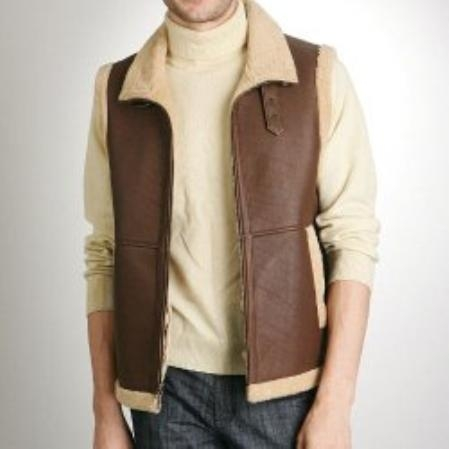 SKU#VG760 Mens Lamb Shearing Vest - Regular & Tall $403