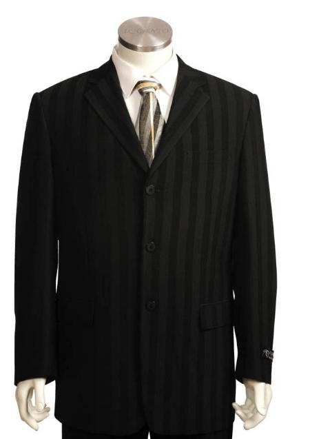 SKU#DF4541 Mens Long Zoot Suits in Black $189
