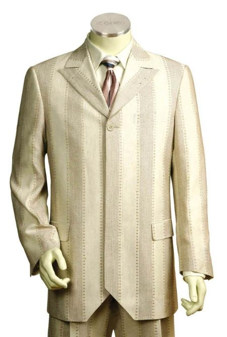 SKU#GF2412 Mens Long Zoot Suits in Lemon Chiffon2 $149