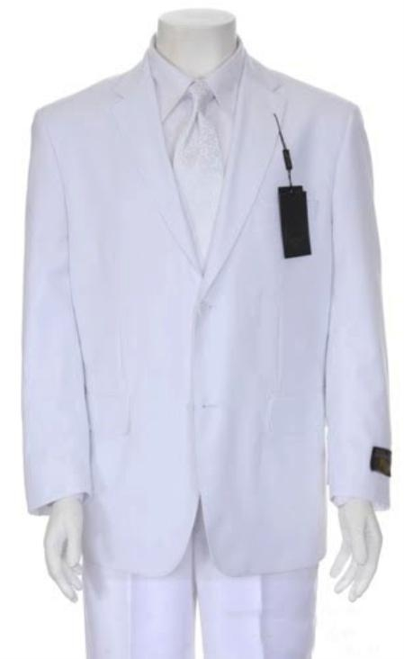 SKU#RX327 Mens Multi-Stage Party Suit Collection White