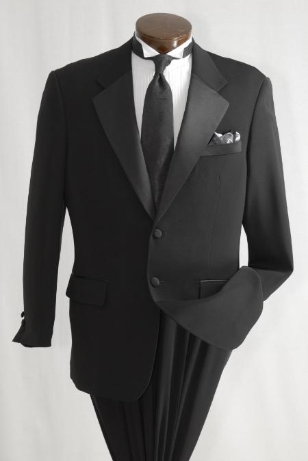 SKU#PL03 Pleated Pants (Regular Fit Jacket) Buy & Dont pay Tuxedo Rental Mens Two Button Single Breasted Tuxedo