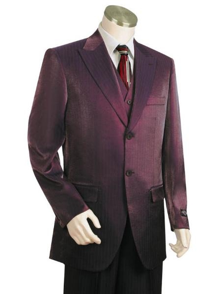 SKU#JW2313 Mens Two Buttons Style comes in Maroon $500