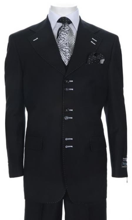 SKU#ND643 Mens Urban Collection Suit Black $139