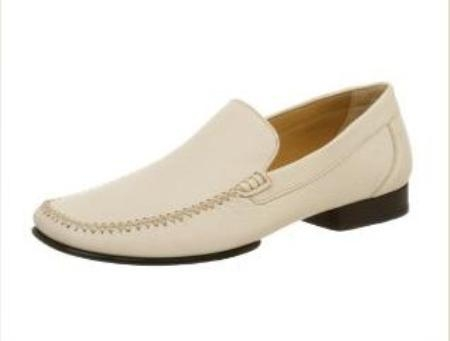 Belvedere Mens Vittorio Slip-on in Ivory $199