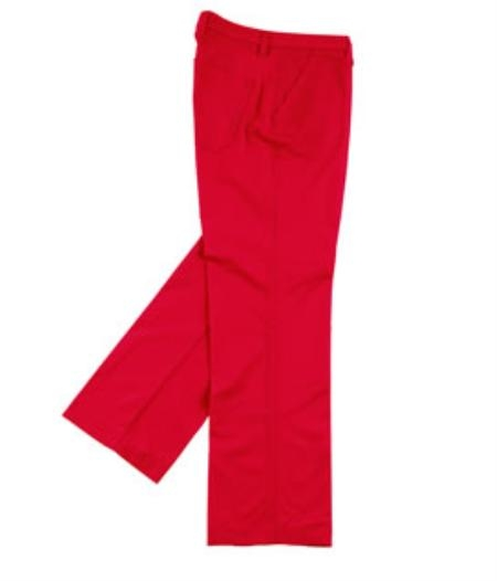 "SKU#WL12 long rise big leg slacks Mens Wide Leg Triple Pleat Pant Red Color 22- Inch"" around the bottom $59"