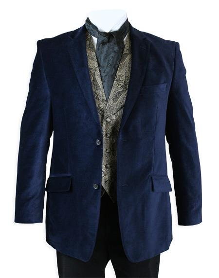 Smoking Jacket Midnight Blue