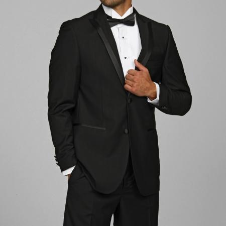SKU#HN1452 Modern Lapel Tuxedo