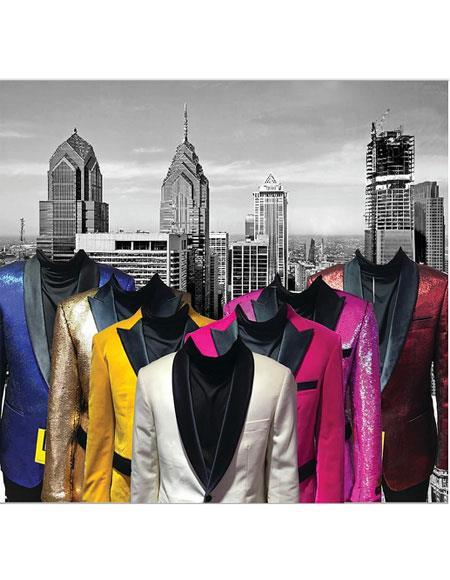 Mens Multi-Color Suit & Blazer & Tuxedo Paper Catalog For Wholesale