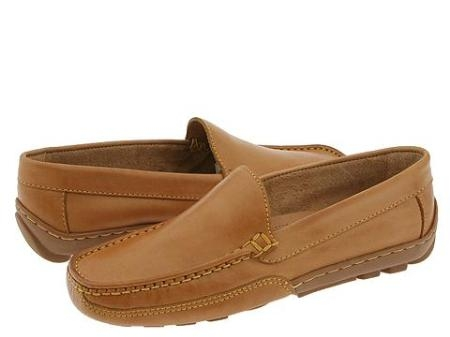 SKU# TDJ263 68823 Natural Color handsome moccasin style slip on is ultra chic and suave.