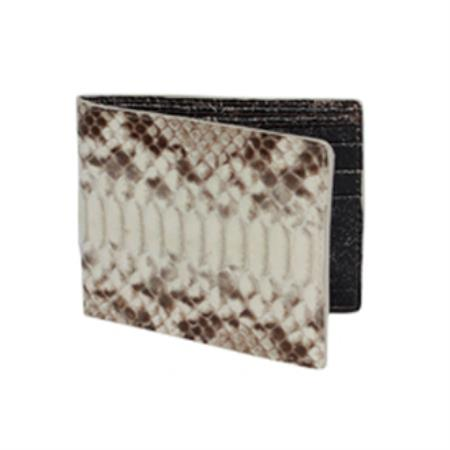 West Boots Wallet-Natural Genuine