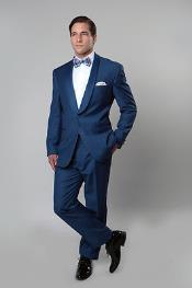 Blue Tux Slim fit
