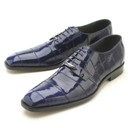 SKU#RRI171 Navy Eelskin Oxford $239