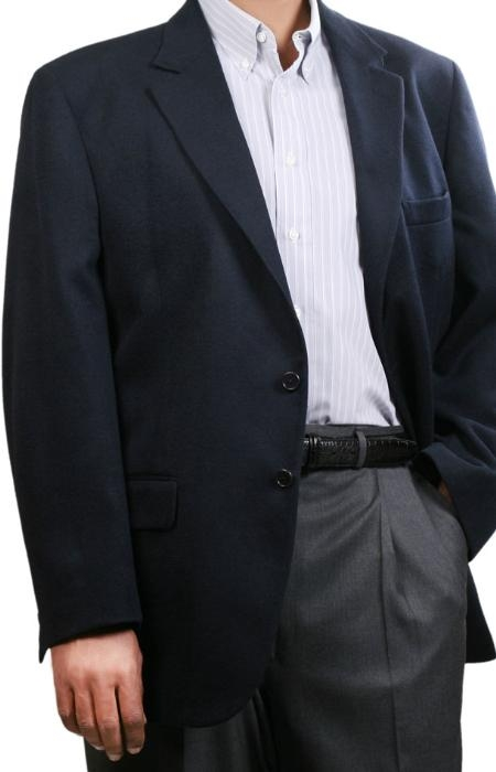 MensUSA.com Navy Fall Winter Mens Sport Coats (Exchange only policy) at Sears.com