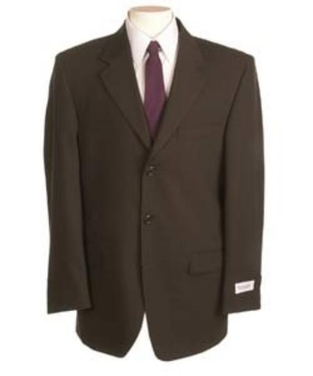 SKU#YSD209 New Choclate Brown Single Breasted Discount Dress 2or3 Button Cheap Suit $79