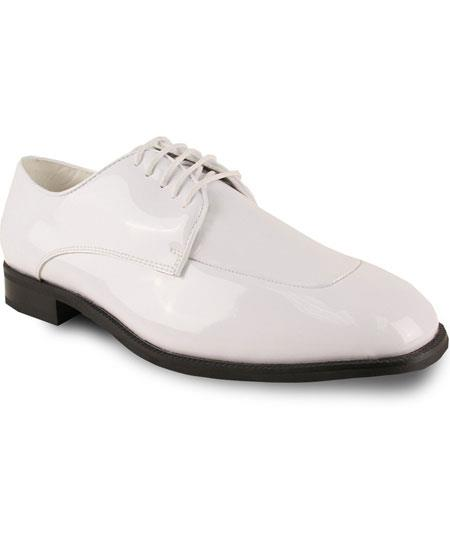 Mens Formal Tuxedo Off White Fully Lined Lace Up Dress Oxford Shoes Perfect for Men